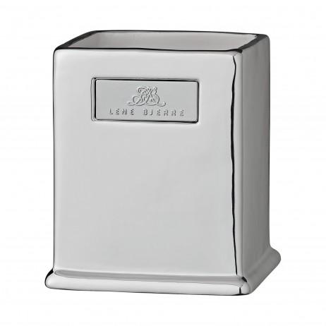 Kubek łazienkowy Scarpa Silver